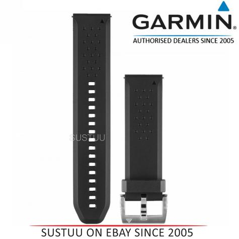 Garmin 010-12419-04?Replacement Smart Watch Strap Band?Fenix Chronos?Silicone-B Thumbnail 1