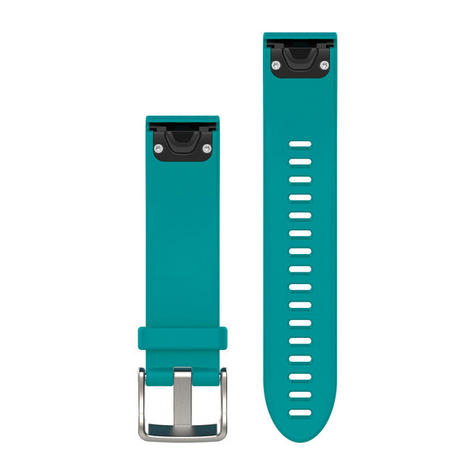 Garmin 010-12491-11 Turquoise QuickFit 20mm Strap Band for Fenix 5s 42mm Watch Thumbnail 1