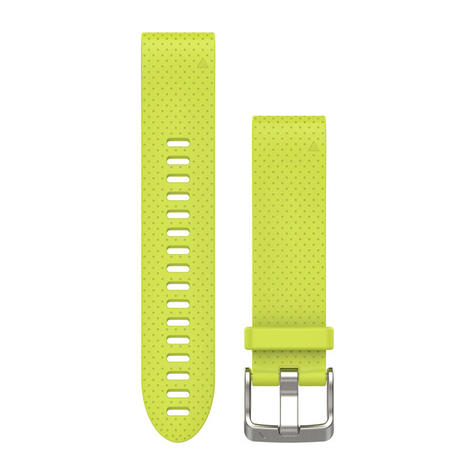 Garmin Quickfit Watch Strap Band | For D2 Delta S-Fenix 5S/5S Plus | Silicone | 20 mm Thumbnail 2