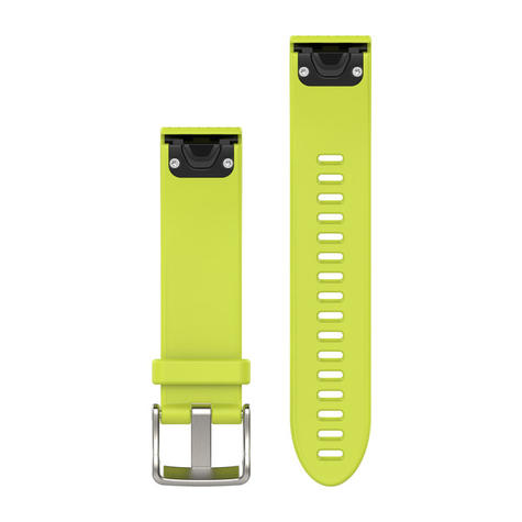 Garmin Quickfit Watch Strap Band | For D2 Delta S-Fenix 5S/5S Plus | Silicone | 20 mm Thumbnail 3