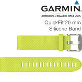 Garmin Quickfit Watch Strap Band | For D2 Delta S-Fenix 5S/5S Plus | Silicone | 20 mm