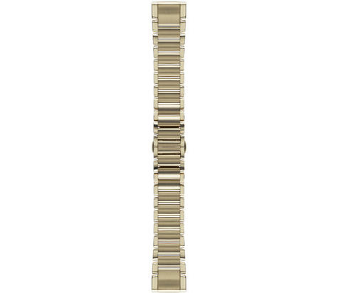 Garmin QuickFit 20mm Watch Band | For Fenix 5S/5S Plus-D2 Delta S | Goldtone | S/M | New Thumbnail 2