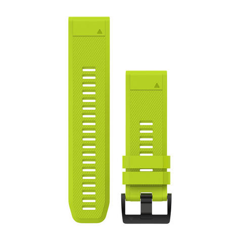 Garmin Quickfit 26 Watch Strap Silicone Band | For fenix-D2-Quatix-Tactix-Foretrex Thumbnail 1