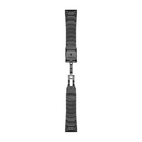 Garmin 010-12517-05 26mm QuickFit Fenix 3/5 Quatix Tactix Gray Steel Watch Strap Thumbnail 1