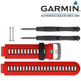 Garmin Replacement Watch Strap Band | For Forerunner 230 235 630 735XT | Red/Black