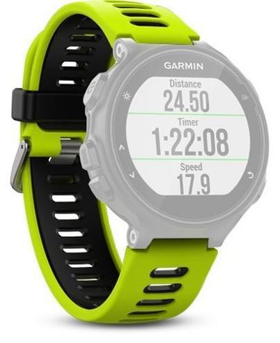 Garmin Replacement Watch Strap Band   For Forerunner 230 235 630 735XT   Force Yellow / Black Thumbnail 2