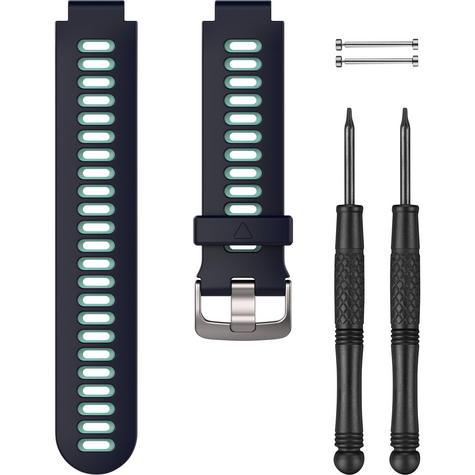 Garmin Replacement Watch Strap Band?For FR230/ 235/ 630/ 735XT?Midnight Blue-NEW Thumbnail 1