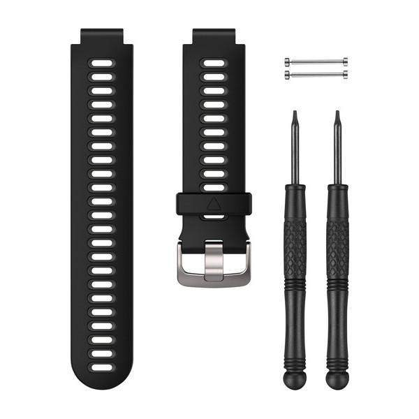 Garmin Replacement Wrist Watch Strap Band   For Forerunner 230/235/630/735XT   Black