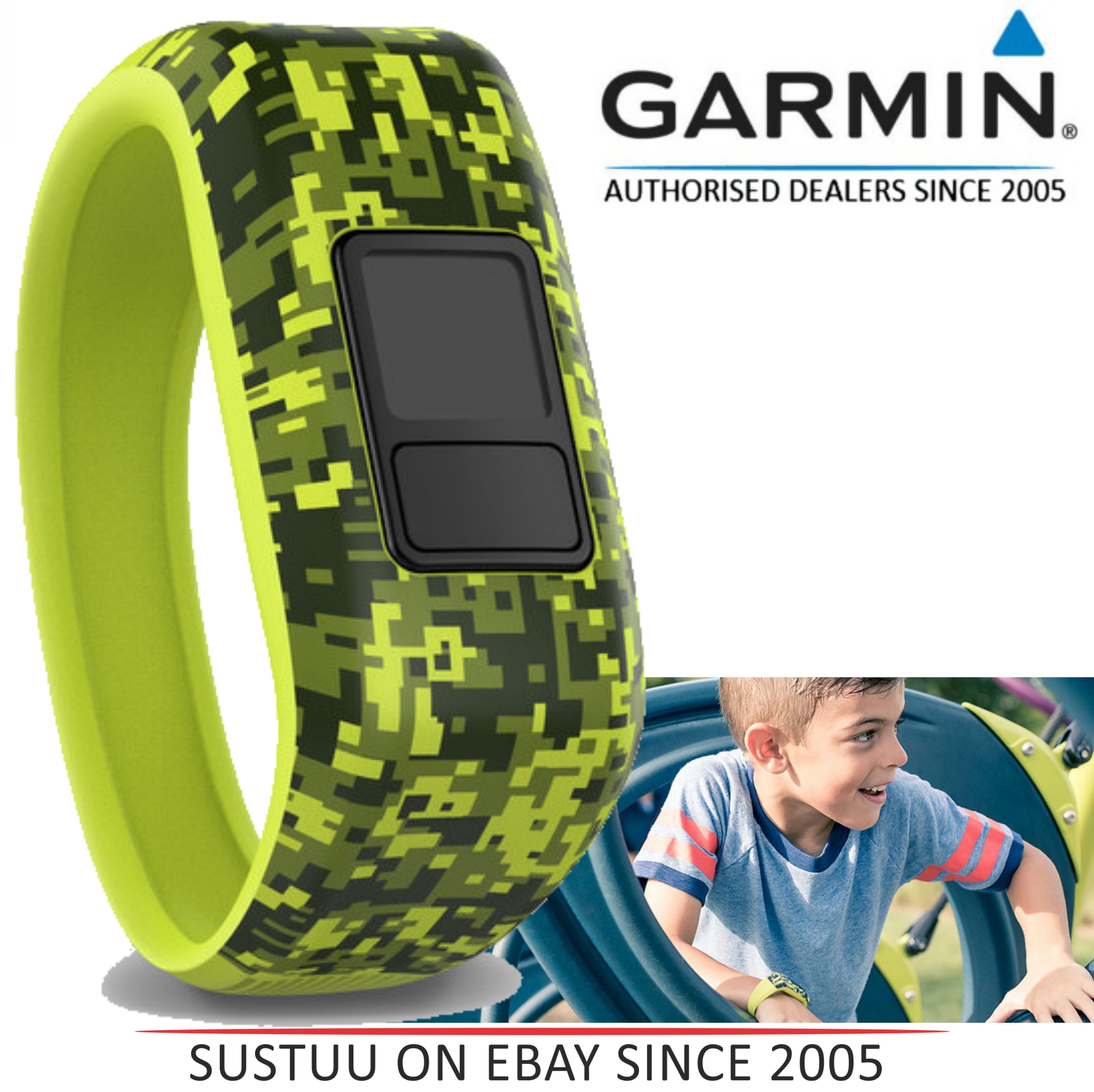 Garmin 010-12469-01|Digi Camo Replacement Strap Band|VivoFit JR Activity Tracker