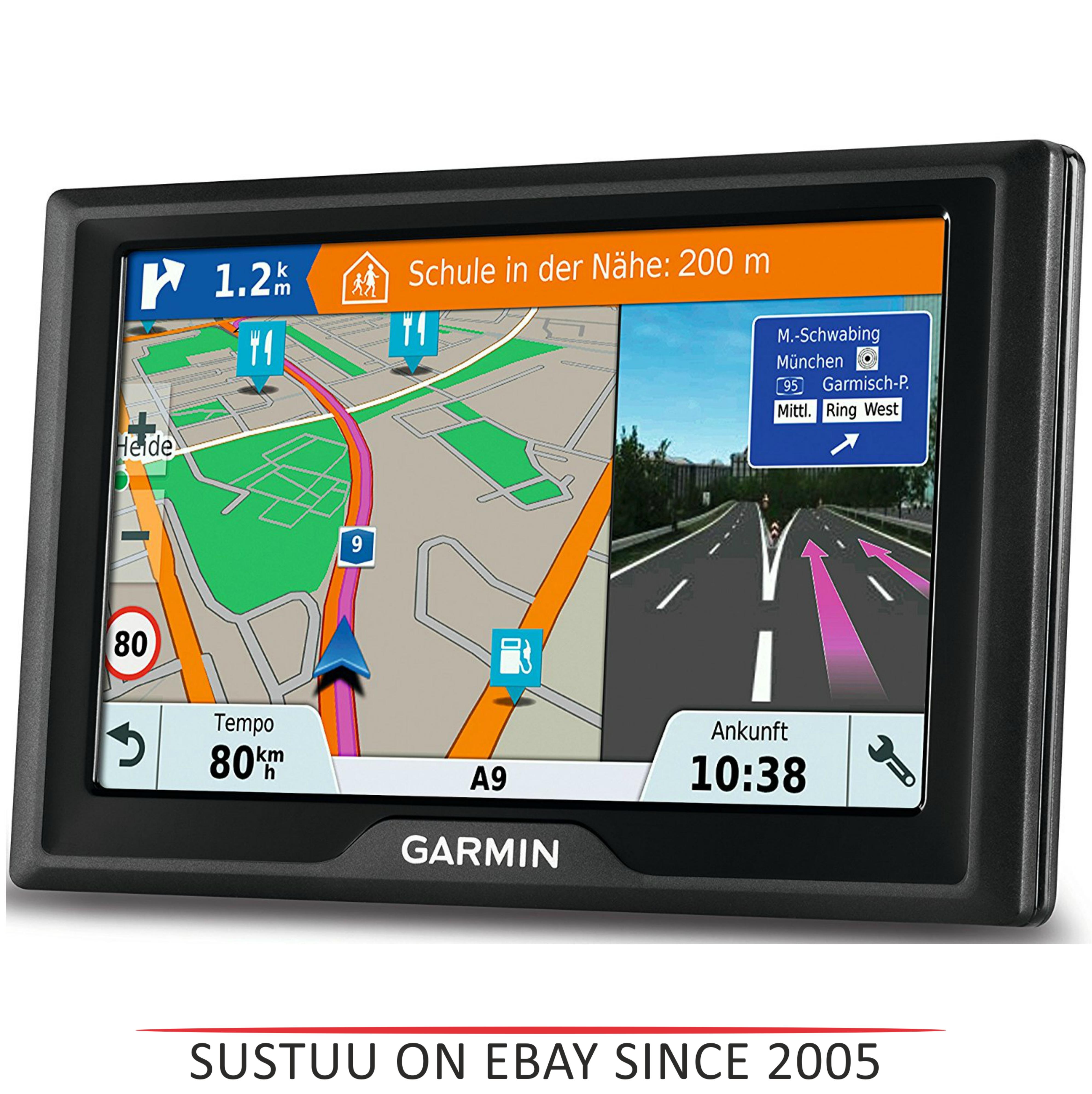 "Garmin Drive 51LMT-S EU|5""GPS SatNav|Driver Alert|Real-time Live Traffic-Parking"