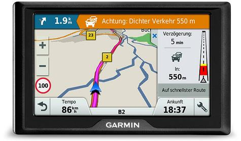 "Garmin Drive 51LMT-S EU|5""GPS SatNav|Driver Alert|Real-time Live Traffic-Parking Thumbnail 5"