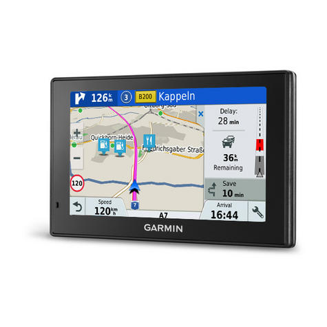 "Garmin 010-01680-13 5"" GPS Satnav Free Lifetime Maps & Traffic Drivesmart - EU Thumbnail 2"
