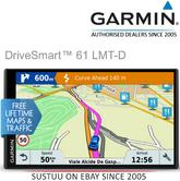 "Garmin DriveSmart 61LMT-D|6.95"" GPS SatNav
