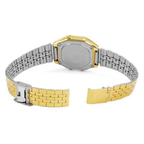 Casio LA-680WEGA-9BER Ladies Gold Plated Digital Watch / Gold Case / Black Dial / NEW /  Thumbnail 5