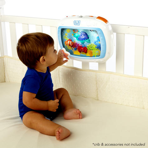 Baby Einstein Crib Sea Dream Soother | Baby/ Kid's Mobile Cot Toy | With Music+Light | +0 Months Thumbnail 3