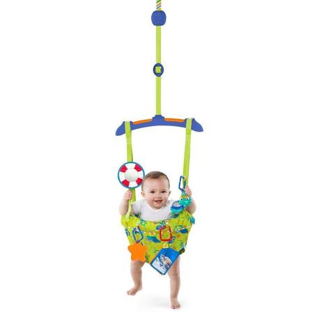 Baby Einstein Sea & Discover Adjustable Door Jumper/ Bouncer | With Mirror+Teether | +6 Months Thumbnail 2