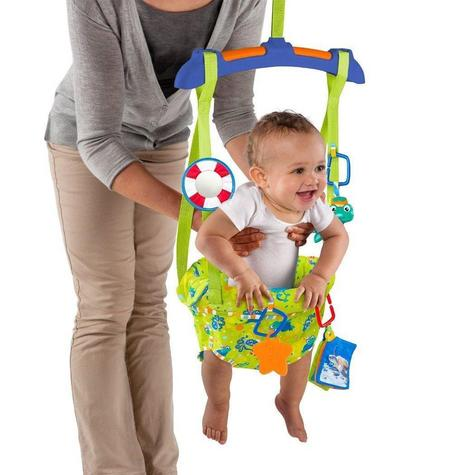 Baby Einstein Sea & Discover Adjustable Door Jumper/ Bouncer | With Mirror+Teether | +6 Months Thumbnail 4