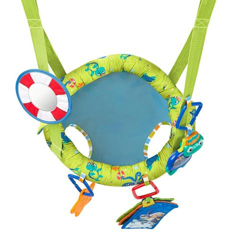 Baby Einstein Sea & Discover Adjustable Door Jumper/ Bouncer | With Mirror+Teether | +6 Months Thumbnail 7