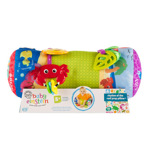 Baby Einstein Rhythm of the Reef Prop Pillow | Kids Tummy Time Activity With Toy Thumbnail 6