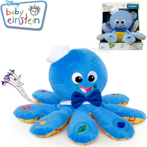 Baby Einstein Octoplush | Toddler/ Kids Learning Activity Toy With Colours+Music Thumbnail 1