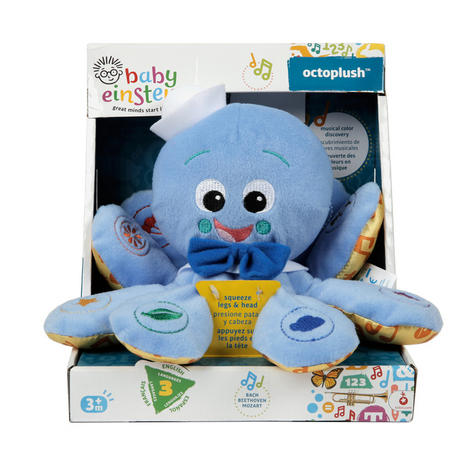 Baby Einstein Octoplush | Toddler/ Kids Learning Activity Toy With Colours+Music Thumbnail 6