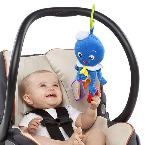 Baby Einstein Activity Arms Octopus | Clip On Pram/'Pushchair/Baby Carrier+Teether Thumbnail 3