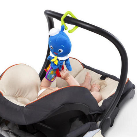 Baby Einstein Activity Arms Octopus | Clip On Pram/'Pushchair/Baby Carrier+Teether Thumbnail 4