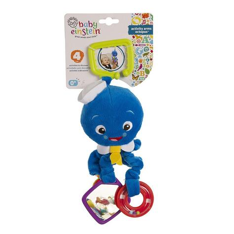 Baby Einstein Activity Arms Octopus | Clip On Pram/'Pushchair/Baby Carrier+Teether Thumbnail 5