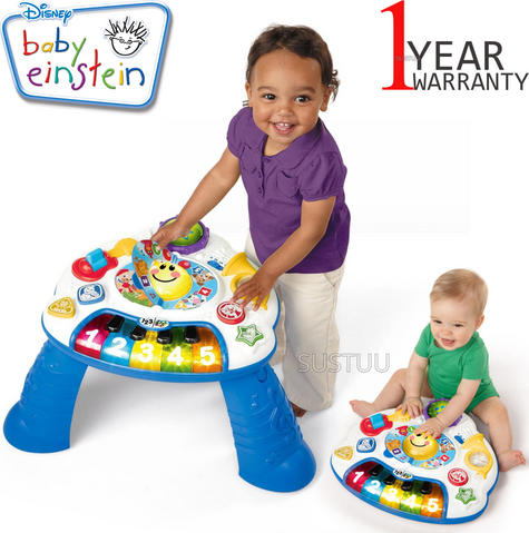 Baby Einstein Discover Music Activity Table | Learning/Fun Musical Toy With Light | +6 Months Thumbnail 1