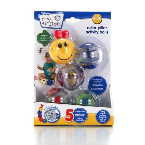 Baby Einstein Roller-Pillar Activity Balls | Kids Learning Toy With Mirror+Rattle Thumbnail 3