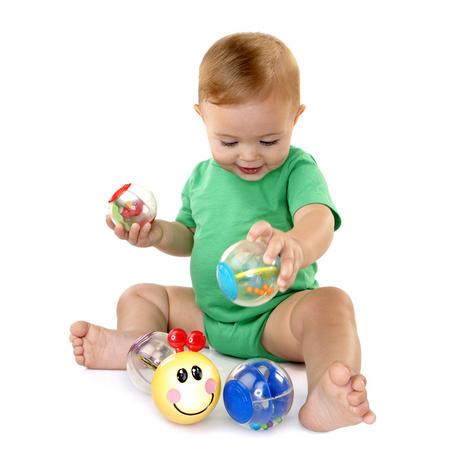 Baby Einstein Roller-Pillar Activity Balls   Kids Learning Toy With Mirror+Rattle Thumbnail 5