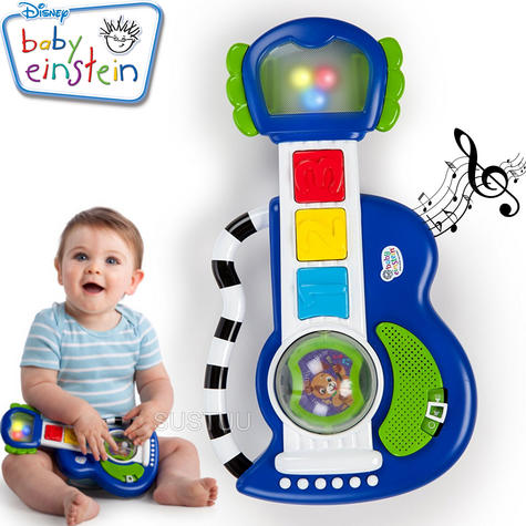 Baby Einstein Rock, Light & Roll Guitar | Kids Learning Activity Toy With Music Thumbnail 1
