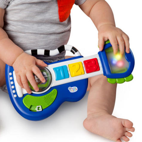 Baby Einstein Rock, Light & Roll Guitar | Kids Learning Activity Toy With Music Thumbnail 3