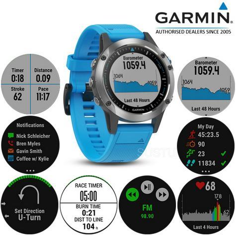 Garmin Quatix 5 GPS Smartwatch|Autopilot Control|Data Streaming|Marine Features Thumbnail 1