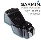 Garmin P66 Transom Mount Transducer with Depth/Speed/Temp & 25' Cable | 600W | 8-pin