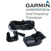Garmin Dual Frequency Transom Mount Transducer - 6 pin | 010-10272-10 | For Marine