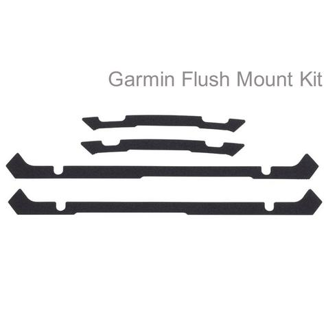 Garmin 0101244001?Flush Mount Kit?Easily Position & Surfaces?For STRIKER+5cv & 5cv Thumbnail 1