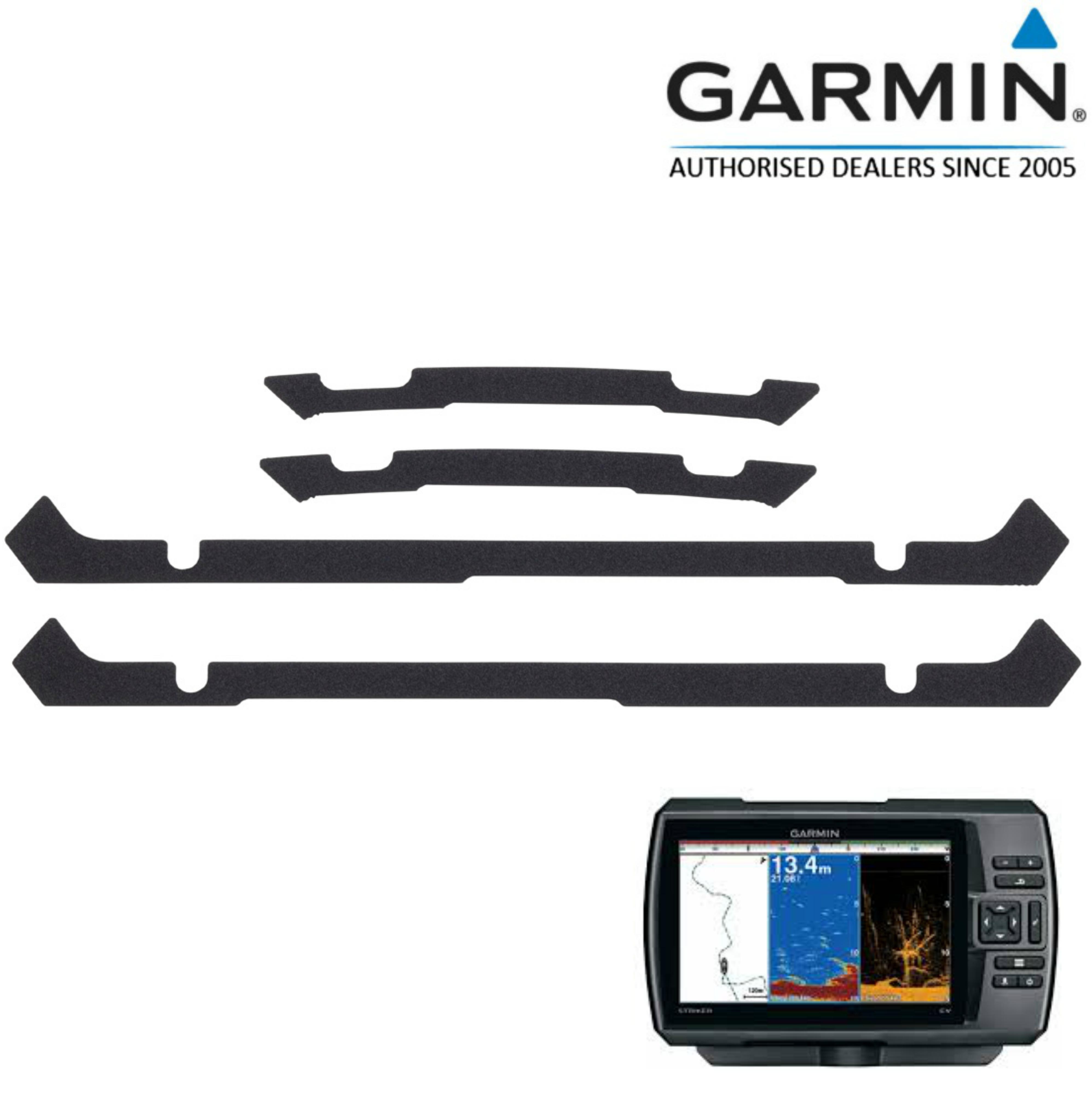 Garmin-0101244002|Flush Mount Kit|For STRIKER 7cv/7sv& STRIKER+ 7cv/sv|In Marine