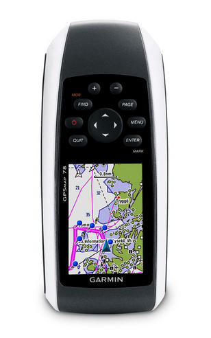 Garmin GPSMAP78 World Wide|Handheld|Waterproof|Receiver|Navigator|Large G2 Chart Thumbnail 2