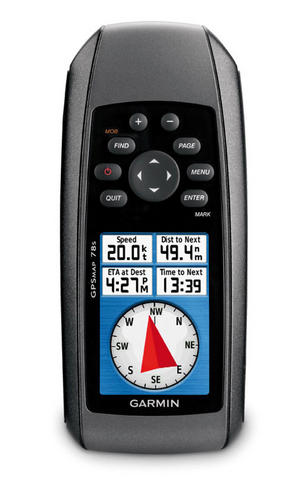 Garmin GPSMAP78s World Wide|Waterproof|Compass|Altimeter|Navigator|Large G2Chart Thumbnail 2