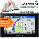 """Garmin Nuvi 2799LMT-D 7""""GPS SatNav Bluetooth VoiceActivate Navigation Foursquare"""