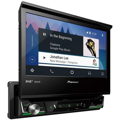 "Pioneer 7"" Car Stereo+Navigation Ready