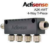 Actisense A2K-4WT 4 Way T Piece?For Multidrop NMEA 2000 Micro T Connector?IP67