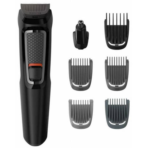 Philips Series 3000?7 in 1?Men's?Hair?Body?Face?Clipper?Trimmer?MultiGroom Kit Thumbnail 3