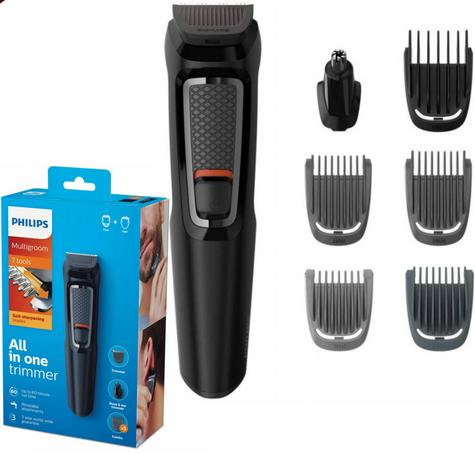 Philips Series 3000?7 in 1?Men's?Hair?Body?Face?Clipper?Trimmer?MultiGroom Kit Thumbnail 1