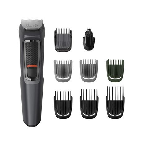 Philips 9 in 1 Men's Multigroomer | Face-Nose-Body-Hair Trimmer Clipper Set | MG3747/13 Thumbnail 2