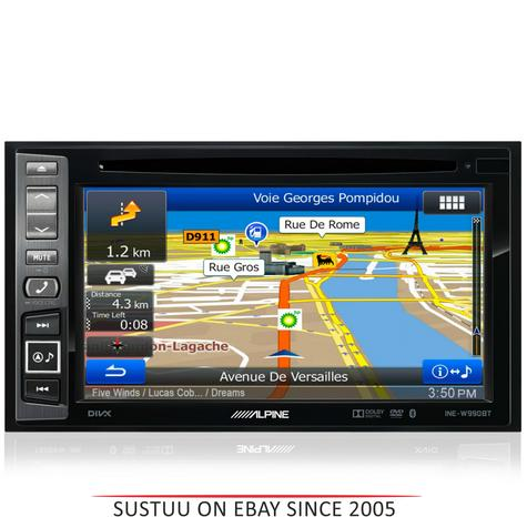 Alpine INE W990HDMI|Car Stereo+GPS SatNav?Bluetooth|DAB+|HDMI|USB|Aux|iPod-iPhone-Android Thumbnail 1