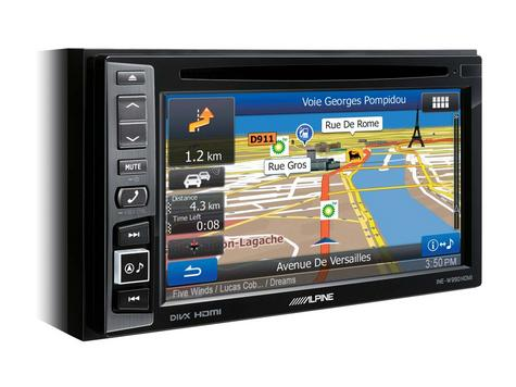 Alpine INE W990HDMI|Car Stereo+GPS SatNav?Bluetooth|DAB+|HDMI|USB|Aux|iPod-iPhone-Android Thumbnail 2