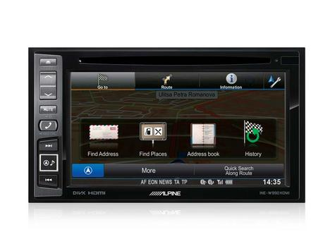 Alpine INE W990HDMI|Car Stereo+GPS SatNav?Bluetooth|DAB+|HDMI|USB|Aux|iPod-iPhone-Android Thumbnail 6