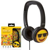 Groov-e GVEMJ15  EarMOJI's Stereo Headphones|3.5mm|Swivel Ear Cups|Cool Face|New